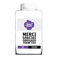 Gracias, thank you, merci, obrigado